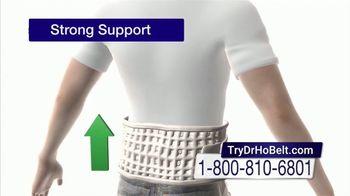 DR-HO's Back Relief Belt TV Spot, 'Back Pain Solution'