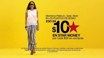 Macy's Black Friday en Julio TV Spot, 'Días Star Money' - Thumbnail 4