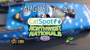 NHRA TV Spot, '2018 CatSpot Northwest Nationals' - Thumbnail 6