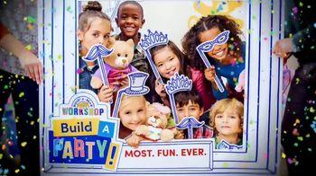 Build-A-Bear Workshop TV Spot, 'Build a Party' - Thumbnail 10