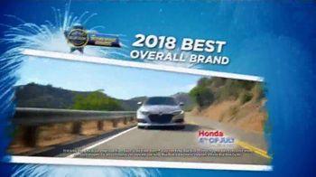 Honda 4th of July Sales Event TV Spot, 'America's Birthday' [T2] - Thumbnail 4
