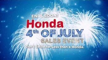Honda 4th of July Sales Event TV Spot, 'America's Birthday' [T2] - Thumbnail 6