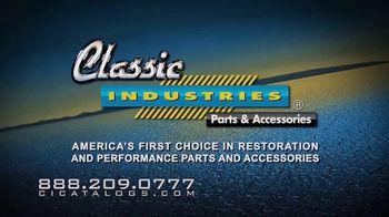 Classic Industries TV Spot,  'Parts for Camaro, Firebird and Nova'