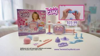Twinkle Clay Princess Studio TV Spot, 'Sparkle Sparkle' - Thumbnail 9