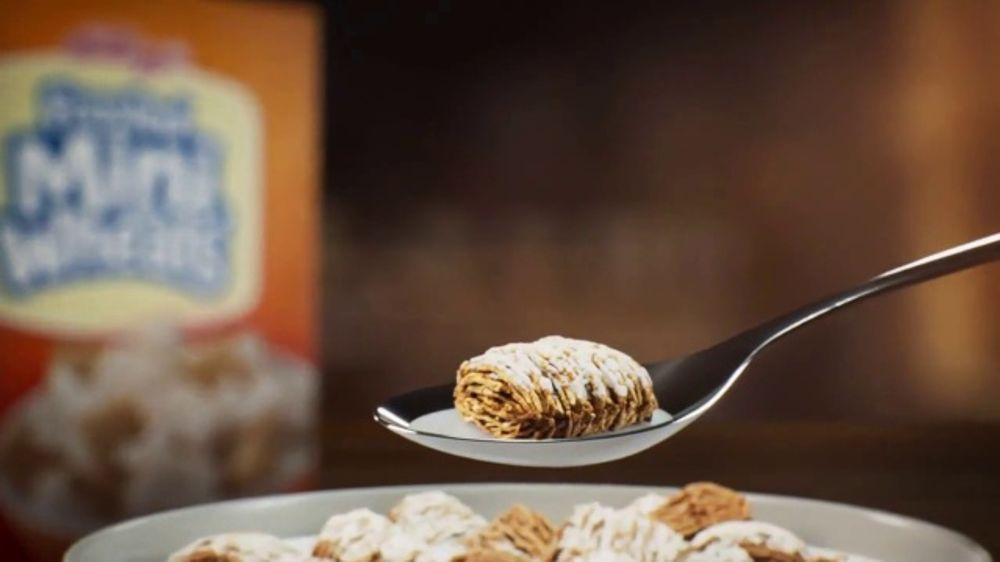 Frosted Mini-Wheats TV Commercial, 'Built for Big Days: Spoon'