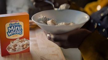 Frosted Mini-Wheats TV Spot, 'Built for Big Days: Spoon' - Thumbnail 9