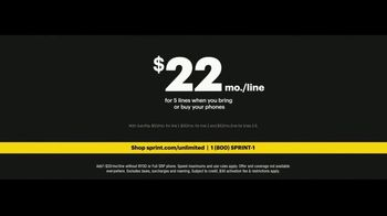 Sprint Unlimited Plus Plan TV Spot, 'Rooftop' - Thumbnail 10