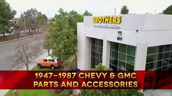 Brothers Truck TV Spot, 'No. 1 Source for Classic Chevy & GMC Truck Parts' - Thumbnail 2