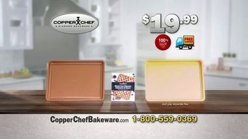 Copper Chef Diamond Bakeware TV Spot, 'Slides Right Off' Ft. Eric Theiss - Thumbnail 10