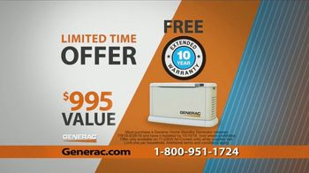 Generac Automatic Home Standby Generator TV Spot, 'Control Your Power' - Thumbnail 7