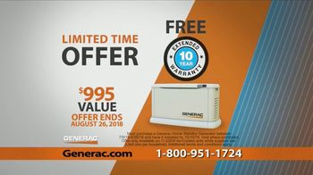 Generac Automatic Home Standby Generator TV Spot, 'Control Your Power' - Thumbnail 9