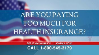 The Affordable Health Insurance Hotline TV Spot, 'Paying Too Much?' - Thumbnail 1