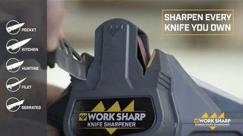 Work Sharp Combo Knife Sharpener TV Spot, 'As Sharp as New' - Thumbnail 4
