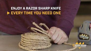 Work Sharp Combo Knife Sharpener TV Spot, 'As Sharp as New' - Thumbnail 8