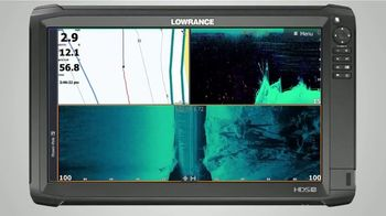 Lowrance Fishreveal TV Spot, 'HDS Carbon Free Sonar Features' - Thumbnail 9