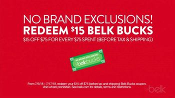 Belk Black Friday in July TV Spot, 'Lowest Prices of the Season' - Thumbnail 7