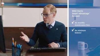 BMO Harris Bank Smart Advantage Checking TV Spot, 'Why' - Thumbnail 3