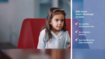 BMO Harris Bank Smart Advantage Checking TV Spot, 'Why'