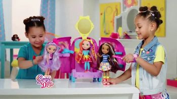 Sunny Day Glam Vanity Playset TV Spot, 'Gear Up & Go' - Thumbnail 9