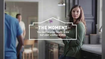 Lowe's TV Spot, 'Growing Family: Appliance Special Values'