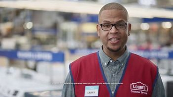 Lowe's TV Spot, 'Growing Family: Appliance Special Values' - Thumbnail 7