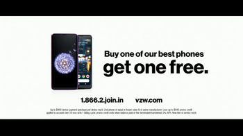 Verizon Unlimited Plans TV Spot, 'Huge News: BOGO' Feat. Thomas Middleditch - Thumbnail 9