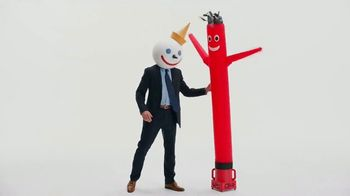 Jack in the Box Spicy Chicken Club Combo TV Spot, 'Tube Man: Add Two Tacos' - Thumbnail 6