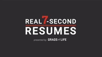 Grads of Life TV Spot, 'Donald: Pathways to Employment'