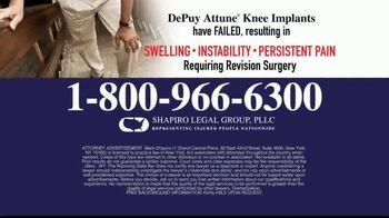 Shapiro Legal Group TV Spot, 'Knee Replacements' - Thumbnail 5