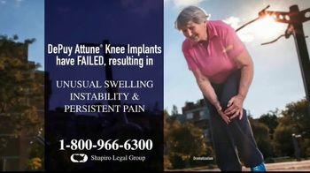 Shapiro Legal Group TV Spot, 'Knee Replacements' - Thumbnail 1