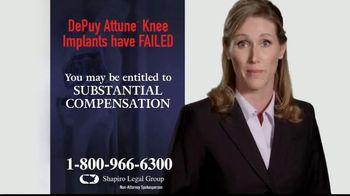 Shapiro Legal Group TV Spot, 'Knee Replacements' - Thumbnail 4