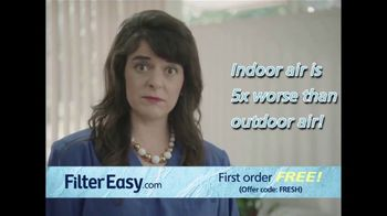 Filter Easy TV Spot, 'Your Indoor Air Is MAD Nasty'