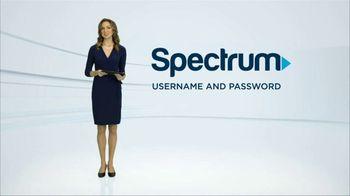 Spectrum TV Spot, 'Username and Password'
