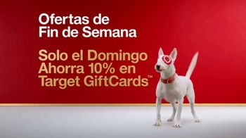 Target TV Spot, 'Ofertas de fin de semana: tarjetas de regalo' [Spanish] - 231 commercial airings