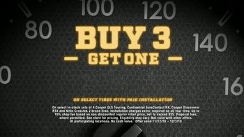 Big O Tires TV Spot, 'Oh No-vember: Buy Three Get One Free' - Thumbnail 8