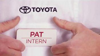 Toyota TV Spot, 'Pat the Intern: Career Day' [T2] - Thumbnail 1