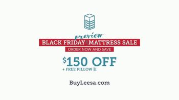 Leesa Black Friday Preview Mattress Sale TV Spot, 'All About My Bed: $225 Offer' - Thumbnail 10