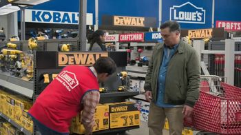 Lowe's Black Friday Deals TV Spot, 'Both Lists: Combo Kit' - Thumbnail 5