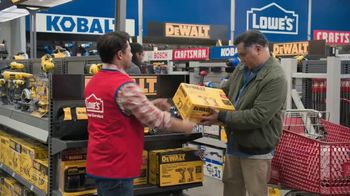 Lowe's Black Friday Deals TV Spot, 'Both Lists: Combo Kit' - Thumbnail 6