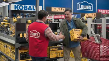 Lowe's Black Friday Deals TV Spot, 'Both Lists: Combo Kit' - Thumbnail 7