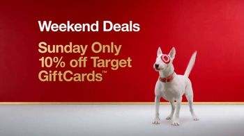 Target Weekend Deals TV Spot, 'Gift Cards: Every Color' Song by Sia - Thumbnail 2