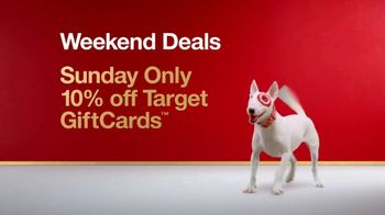 Target Weekend Deals TV Spot, 'Gift Cards' Song by Sia