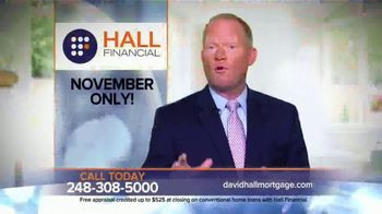 Hall Financial November Pricing Special TV Spot, 'Free Appraisal'
