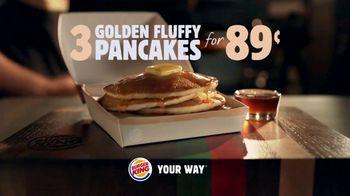 Burger King Pancakes TV Spot, 'Fluff That's More Than Enough' - Thumbnail 10