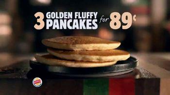 Burger King Pancakes TV Spot, 'Fluff That's More Than Enough' - Thumbnail 3