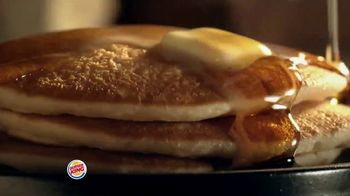Burger King Pancakes TV Spot, 'Fluff That's More Than Enough'