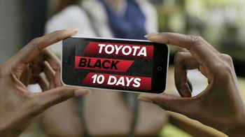 Toyota Black 10 Days TV Spot, 'Get the Message' [T2] - Thumbnail 2