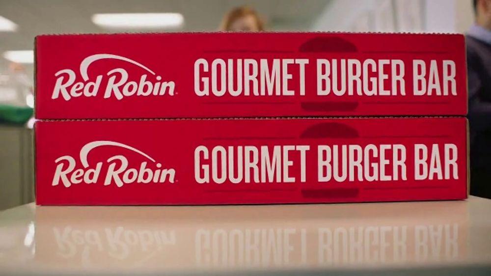 Red Robin Gourmet Burger Bar TV Commercial, 'Cater Like a Boss'