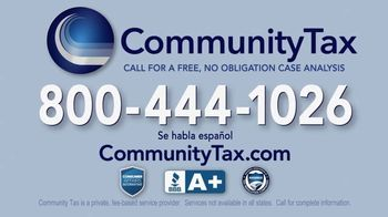 Community Tax TV Spot, 'Back Taxes: Resolutions' - Thumbnail 8