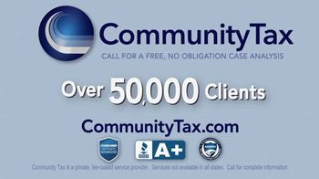 Community Tax TV Spot, 'Back Taxes: Resolutions' - Thumbnail 7